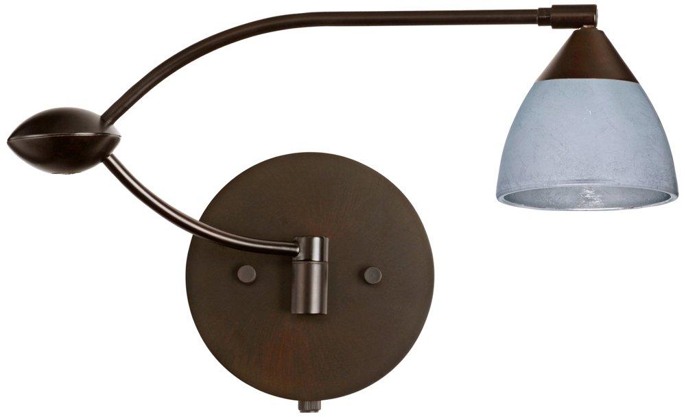 Amazon.com: Besa 1 wu-1758sf Silver Foil Divi lámpara de ...
