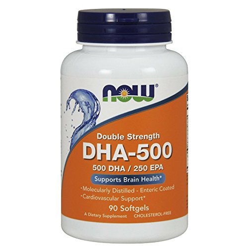 NOW Foods 733739016126 DHA 500 Softgels