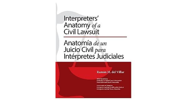 Interpreters\' Anatomy of a Civil Lawsuit/Anatomia de Un Juicio Civil ...