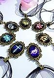 Dreamcosplay Fate Zero Logo Gothic Lolita Retro Girl Necklace 7PCS