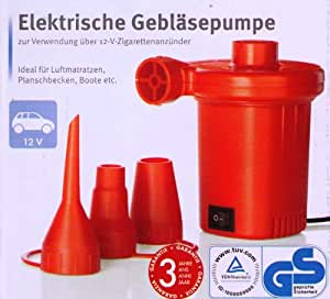 Silvercrest eléctrica Bomba de ventiladores para uso de 12V encendedor de cigarrillos