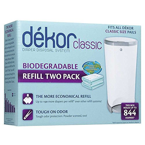 Dekor Classic Biodegradable Refill Two Count by dekor