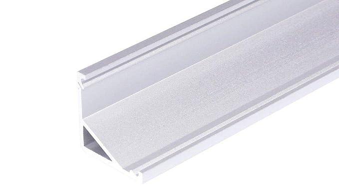 RandLight® – Listón de aluminio LED Perfil de esquina CABI-T-12-