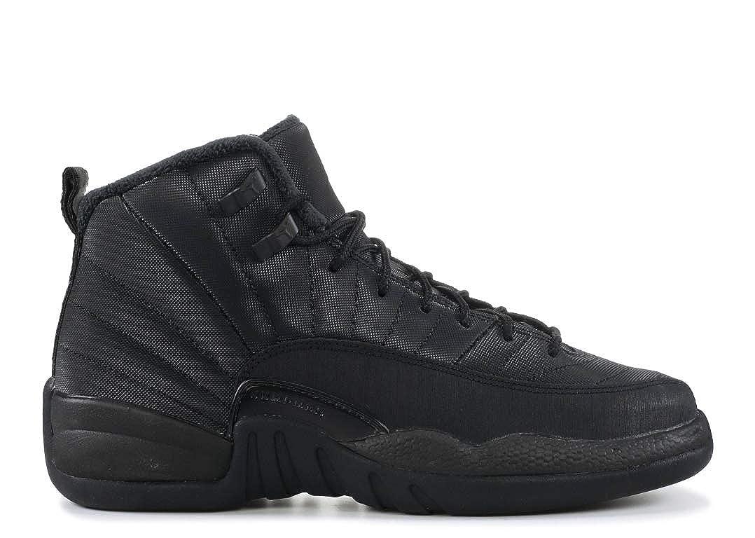 Nike Air Jordan 12 Retro Winter GS Triple Black BQ6852 001 (Size: 4Y)