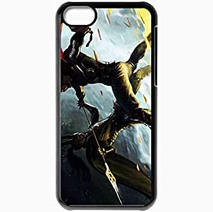 Personalized iPhone 5C Cell phone Case/Cover Skin 2011 thor movie movies Black