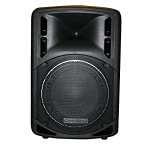 Konig PA-SMP1202 altavoz - Altavoces (2-way, Piso, Incorporado, 250W, 600W, 45 - 20000 Hz) Negro