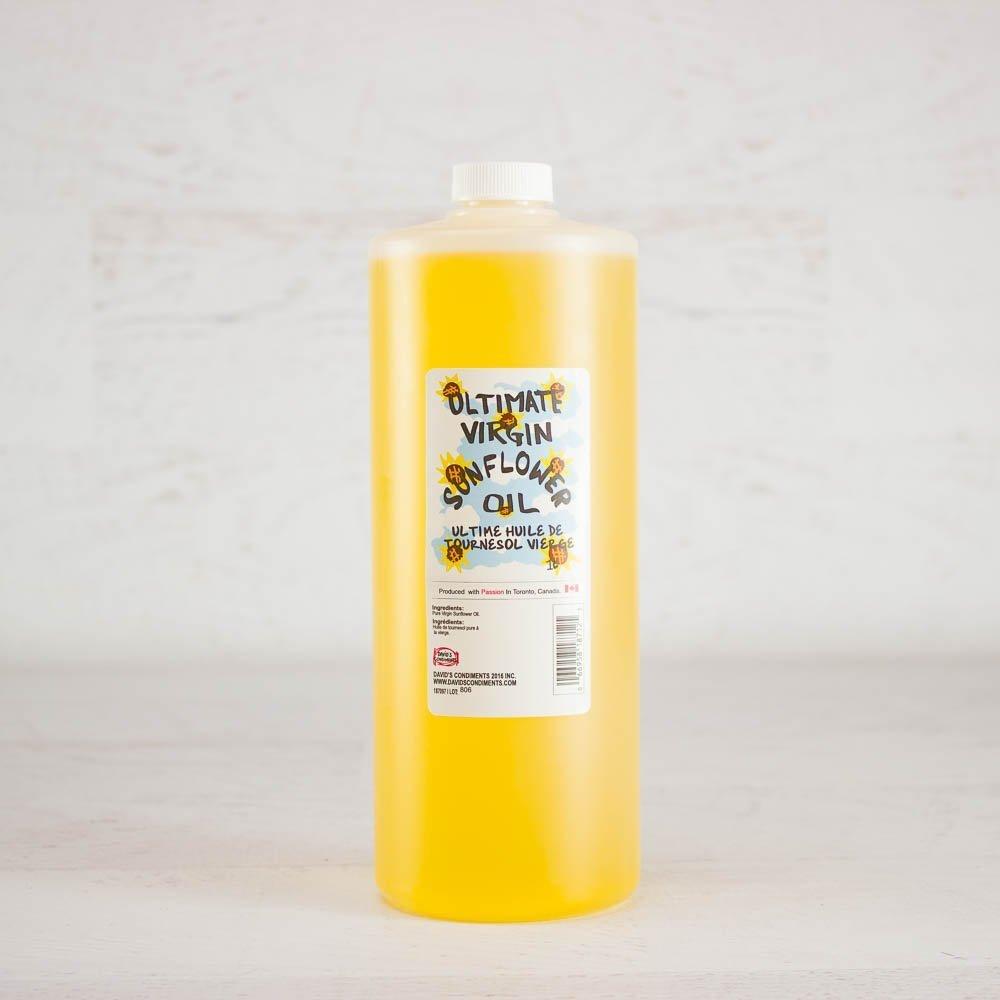 David's Pure Virgin Sunflower Oil - 33.8 fl oz (1 Litre)