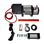 Micropower 6000 lbs Recovery Winch Combo Kit Electric 12V ATV UTV Snow Boat Trailer Truck SUV Jeep Plow Off Road