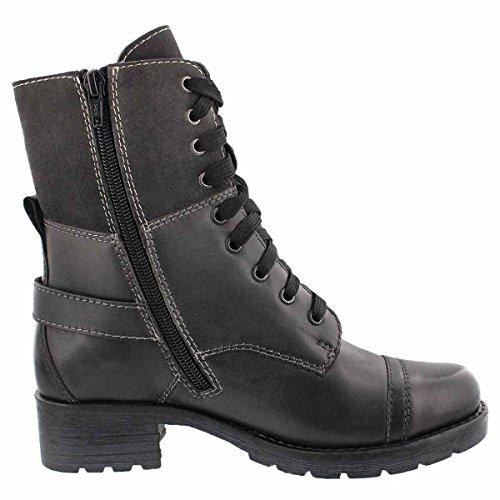 Casual Boot Women's SoftMoc Grey Deedee Combat 2 6qRnSgw4