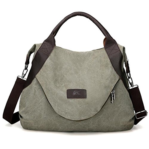 Womens Canvas Handbags - 7