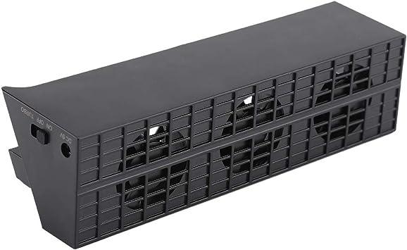 Zerone DC 5 V PS4 Slim Ventilador de refrigeración portátil 3 ...