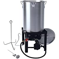 Generic 30 qt Turkey Fryer with Spout