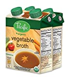 Pacific Foods Organic Vegetable Broth, 3-Ounce Cartons, 24-Pack