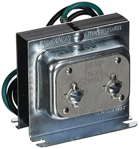Edwards Signaling 591 120V AC Primary 16V Secondary Transformer