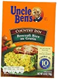Uncle Ben's, Country Inn Rice Dishes, Broccoli Au Gratin, 5-Ounce Box (Pack of 6) by Uncle Ben's