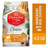 Chicken Soup for the Soul Weight & Mature Care Dry Cat Food, Chicken & Brown Rice Recipe 4.5 lb. Bag | Soy Free, Corn Free, Wheat Free | Dry Cat Food Made with Real Ingredients Larger Image