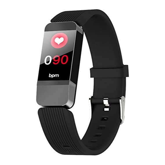 Reloj Inteligente Mujer Smartwatch Impermeable Reloj Inteligente Deportivo Con Pantalla Grande En Color Fitness Tracker Pulsera Inteligente Pulsómetro ...