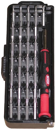 Boxer - Boxer 30 Pcs 4mm Precision Screwdriver Set - PK30 by Boxer