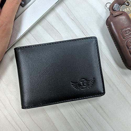 196f8c265324 Front Pocket Wallet for Men by Jim Guyver- Bifold Genuine Leather ...