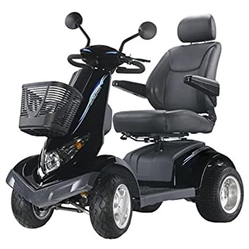 Aviator All Terrain 4 Wheel Electric Power Scooter Warranty: None, Seat  Size: 20