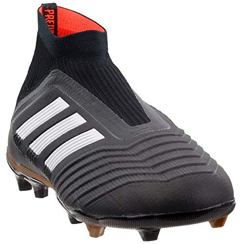 adidas Youth Predator 18+ Fg Firm Ground Soccer Cleats Black/Gold 5.5