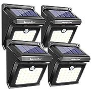 #LightningDeal Luposwiten Outdoor Motion Sensor Solar Lights