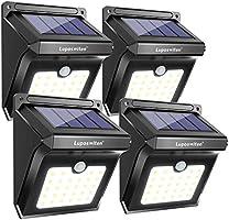 28 LEDs Solar Lights Outdoor, Luposwiten Solar Motion Sensor Lights Wireless Security Lights, 400 Lumen Waterproof Solar...