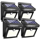 28 LEDs Solar Lights Outdoor, Luposwiten...