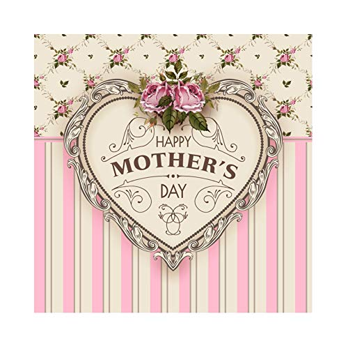 Yeele 4x4ft Vinyl Photo Background Happy Mother's Day Backdrop for Photography Blackboard Crayon Gratitude Party Celebration Decoration Mom Women Ms Lady Photo Booth Shoot Vinyl Studio Props]()