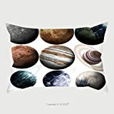 Custom Satin Pillowcase Protector Isolated Set Of Planets In The Solar System Elements Of This Image Furnished By Nasa 432037933 Pillow Case Covers Decorative