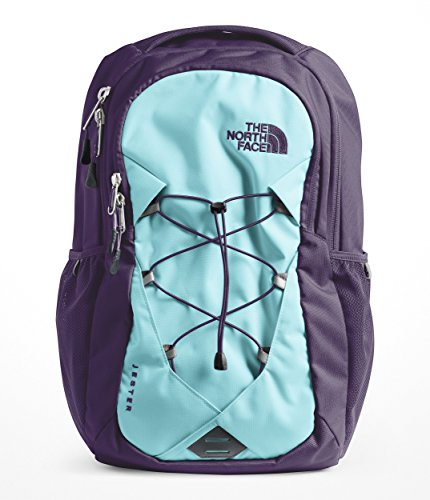 (The North Face Women's Jester Laptop Backpack (Mint Blue/Greystone Blue))