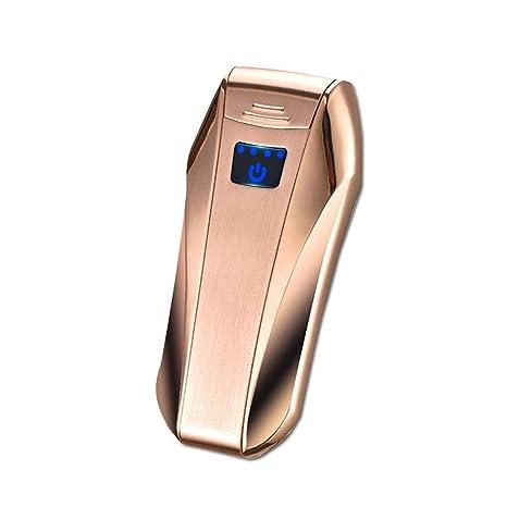 LayOPO Premium Dual ARC Encendedor, USB Recargable con Sensor táctil encendedores, Resistente al Viento, Plasma eléctrico X Beam ARC Encendedor, ...