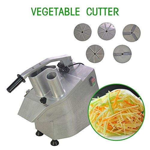 110V 550W Electric Commercial Food Processor Vegetable Slicer Dicer Vegetable Fruit cutter