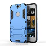 HTC One A9 Case, Cocomii [HEAVY DUTY] Iron Man Case :::NEW::: [ULTRA WAR ARMOR] Premium Shockproof Kickstand Bumper [MILITARY DEFENDER] Full-body Rugged Dual Layer Cover (Blue)