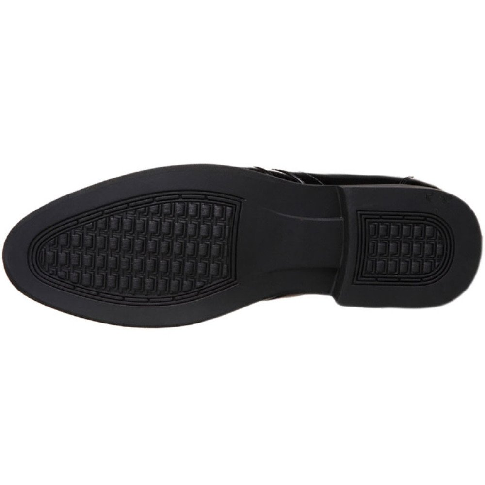 ZHMIAO Zapatos De Piel para para para Hombre. Zapatos con Cordones para Hombre De Oficina Derby Zapatos con Punta De Dedo del Pie para Hombre Zapatos De Cuero De Moda para Hombre,Negro-40 79487d