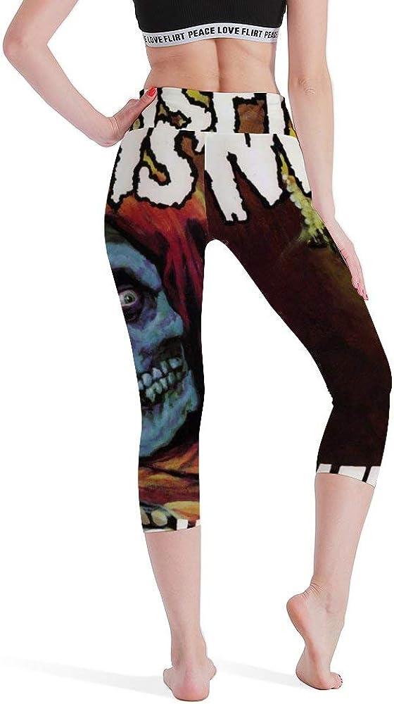 FAEOT Womens Misfits American Psycho high Waisted Yoga Legging Workout