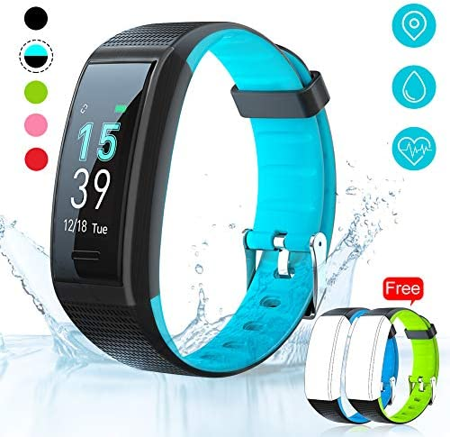 AKASO Helium Fitness Tracker Activity Tracker with Heart Rate and Sleep Monitor Smart Pedometer Watch Calorie Counter Step Counter Fitness Tracker Watch for Kids Women Man H-BAND3