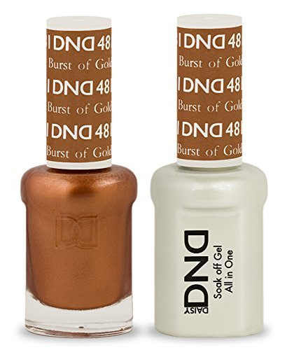 DND Soak Off Gel Polish Dual Matching Color Set 481, Burst o