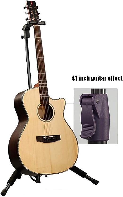 HIIMODER33 Soporte de Guitarra eléctrica de pie de autobloqueo por ...