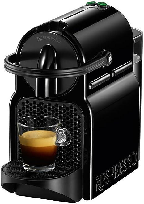 NESPRESSO  Cafetera  Inissia, Color Negra (Incluye obsequio de 14 cápsulas de café)