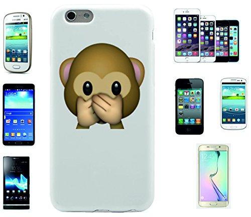 """Smartphone Case Apple IPhone 6+ Plus / 6S+ Plus """"Nichts-Böses-Sagen-Affe"""", der wohl schönste Smartphone Schutz aller Zeiten."""