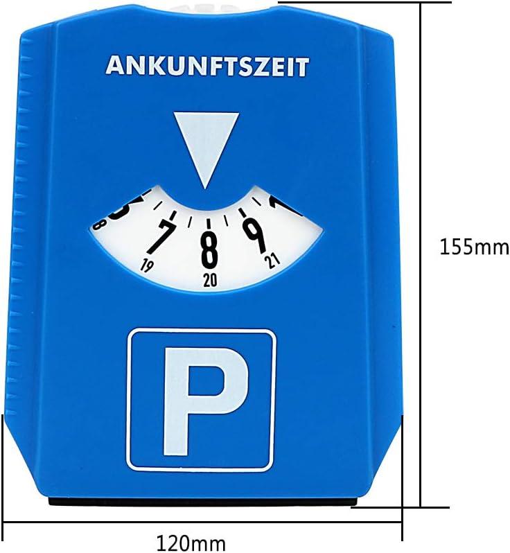 Parkscheibe Mit Eiskratzer Für Auto Auto