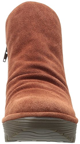 Yip Women's London FLY Oil Boot Suede Brick avEWAwTq