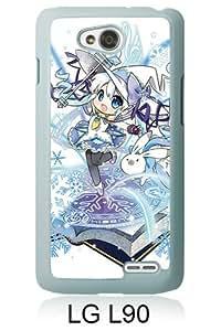 PAN Personalized Design Hatsune Miku Vocaloid Yuki Snow Miku White LG L90 Case