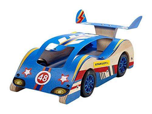 (Stanley Jr. Sports Car Custom Racer Wood Building Kit)