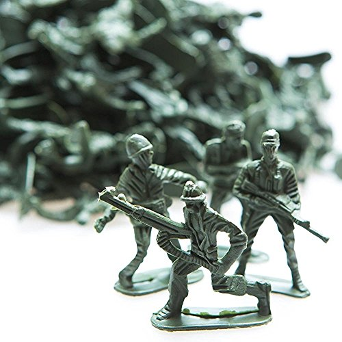 Green Army Soldiers Toy Military Soldier Men 144 Action Figures (Christmas Toy Soldier)