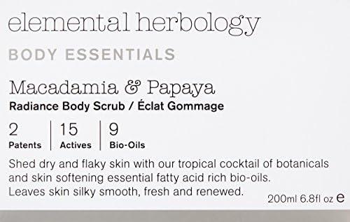 Amazon.com: Elemental herbology Nueces de Macadamia y Papaya ...