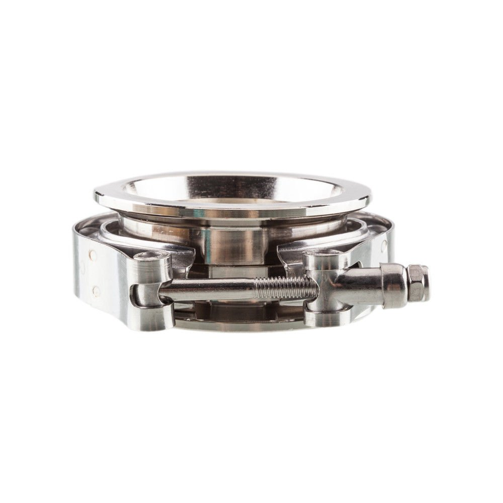 For 2.5 V-Band Flanges and Clamp Kit SS304 Stainless Steel Male /& Female V Band Flanges For Downpipe Exhaust Systems Turbo Parts Pack of 2