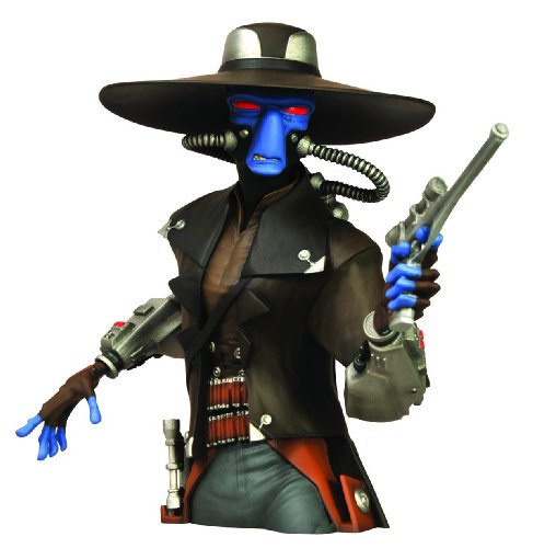 Diamond Select Toys Star Wars: Cad Bane Bust Bank Figure (Darth Vader Bust Bank)