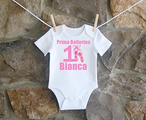 Ballerina Birthday Shirt, Ballerina Birthday Shirt For Girls, Personalized Girls Ballerina Birthday Shirt, Customized Ballerina Birthday Shirt by Lil Lady Treasures
